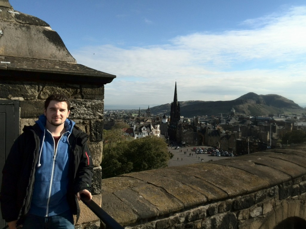 Edinburgh Castle and Hollyrood Park